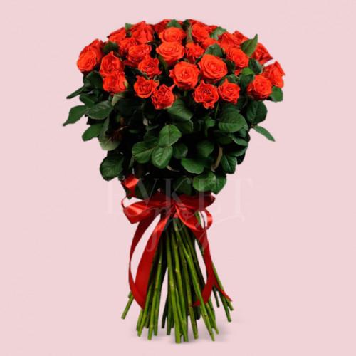Букет из 51 розы Эль Торо