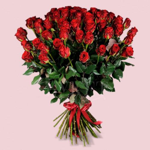 Букет из 51 розы Маричка