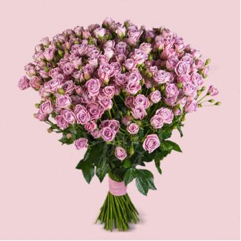 Букет из 51 розы спрей Хэппи Йо-йо