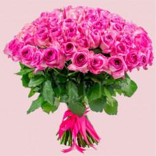 Букет из 101 розы Кэнди Аваланч