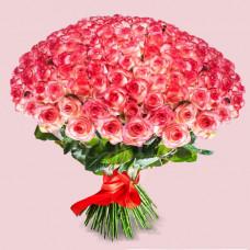 Букет из 125 роз Джумилия